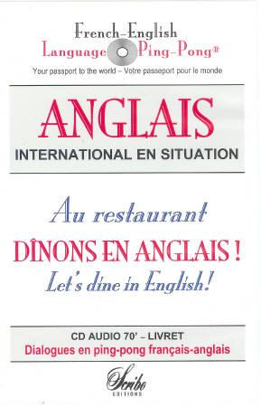 CD AUDIO ANGLAIS AU RESTAURANT FRENCH-ENGLISH