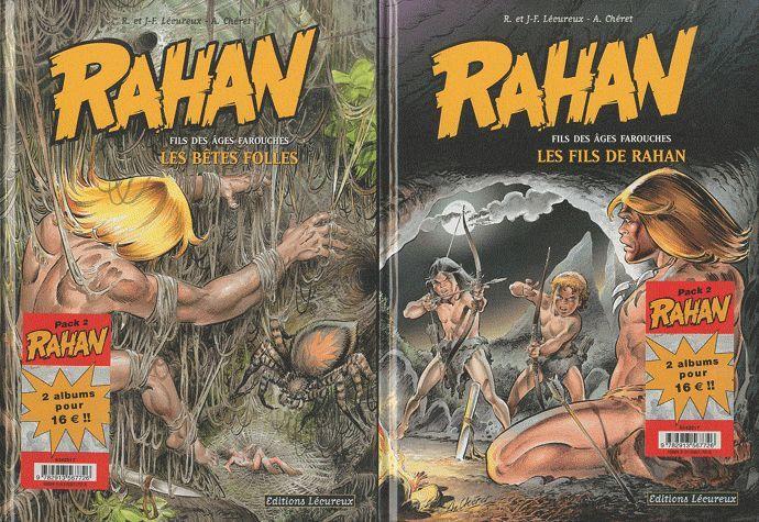RAHAN - PACK NOEL T3+T4
