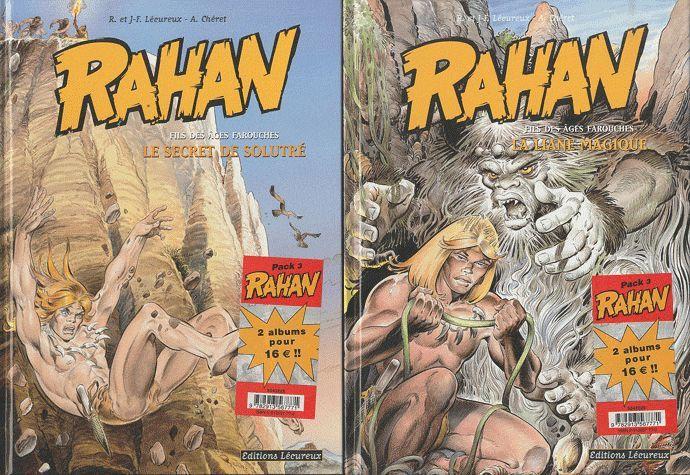 RAHAN - PACK NOEL T5+T6