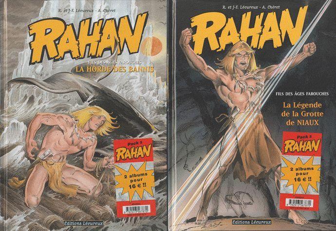 RAHAN - PACK NOEL T9+T10