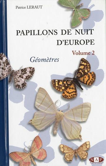 PAPILLONS DE NUIT D'EUROPE, VOLUME 2, GEOMETRES