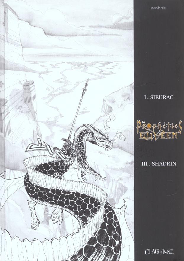 PROPHETIES ELWEEN T3 - SHADRIN NOIR & BLANC