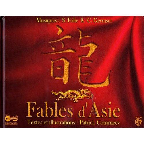 FABLES D'ASIE - LIVRE-CD