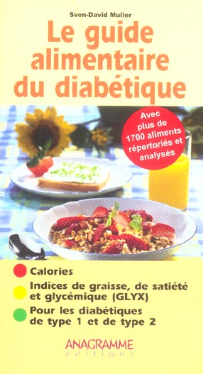 GUIDE ALIMENTAIRE DU DIABETIQUE (LE)