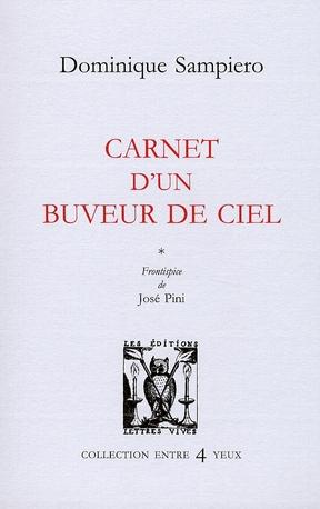 CARNET D'UN BUVEUR DE CIEL