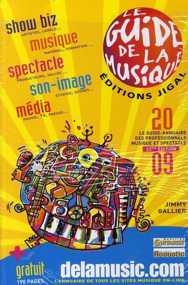 LE GUIDE DE LA MUSIQUE 2009