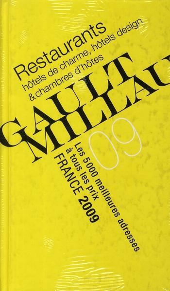 2009 GUIDE GAULT MILLAU FRANCE