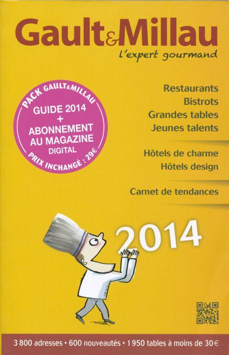 GUIDE GAULT & MILLAU FRANCE 2014