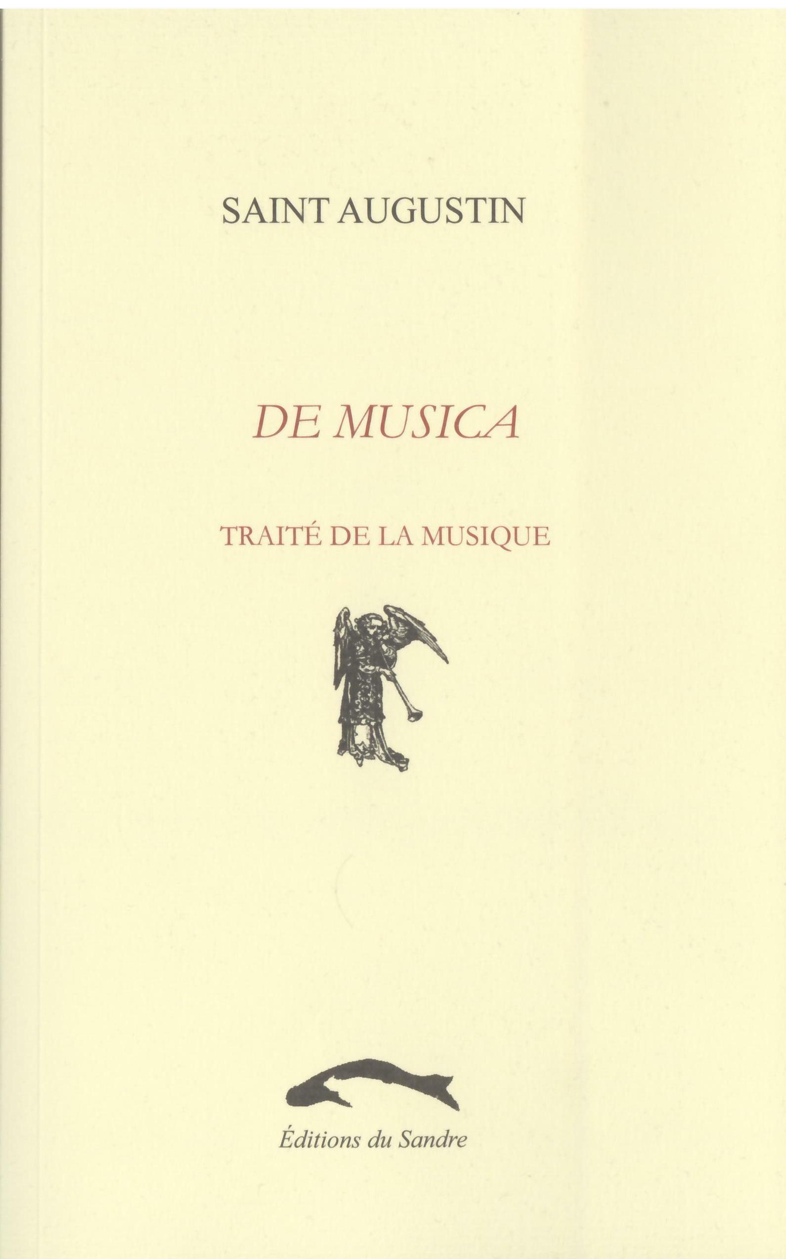 DE MUSICA - TRAITE DE LA MUSIQUE