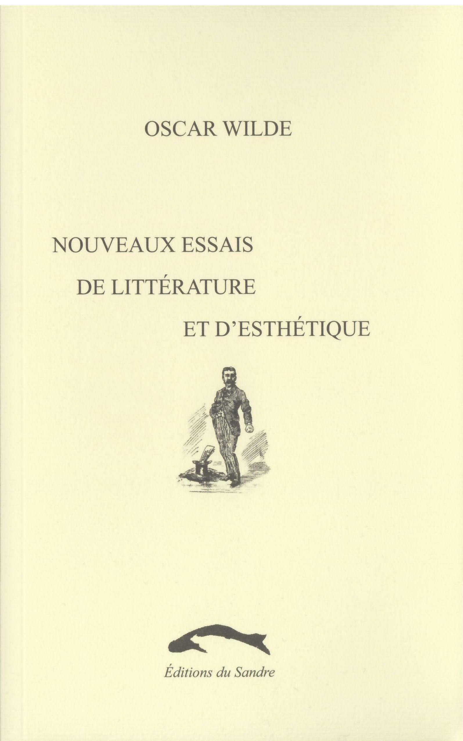 NOUVEAUX ESSAIS DE LITTERATURE ET D'ESTHETIQUE