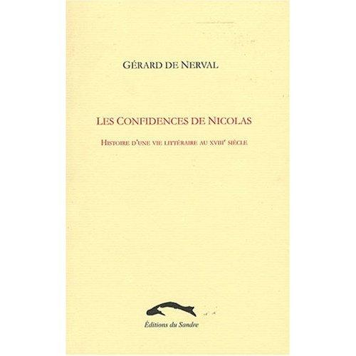 LES CONFIDENCES DE NICOLAS