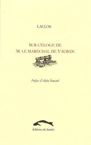 SUR L'ELOGE DE M. LE MARECHAL DE VAUBAN