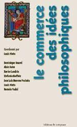 LE COMMERCE DES IDEES PHILOSOPHIQUES