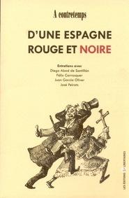 ESPAGNE ROUGE ET NOIRE (D'UNE)