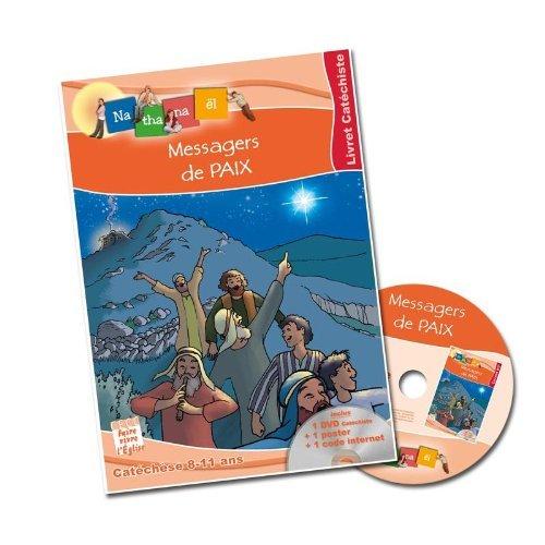 MESSAGERS DE PAIX LIVRET CATECHISME 8-11 ANS