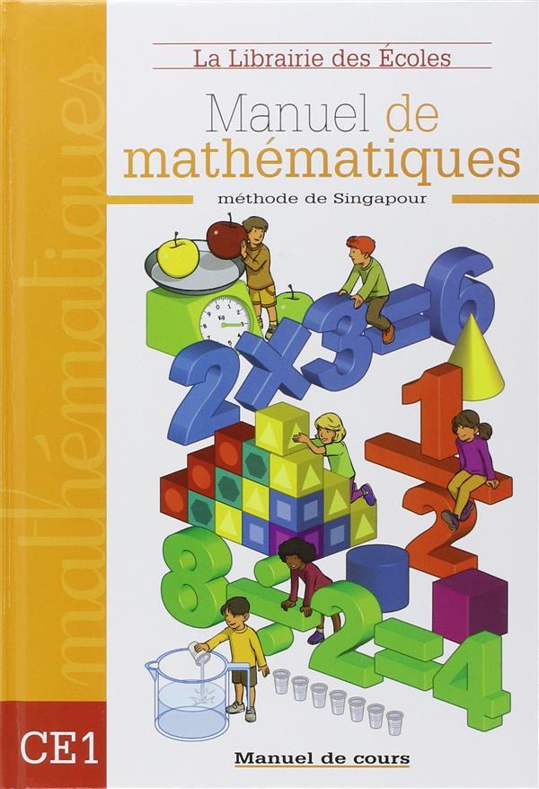 MATHEMATIQUES CE1 - MANUEL DE COURS