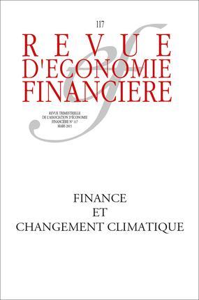 CHANGEMENT CLIMATIQUE ET FINANCE DURABLE N117  MARS 2015