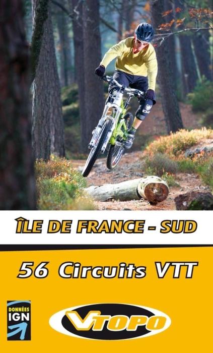ILE DE FRANCE SUD 55 PARCOURS VTT
