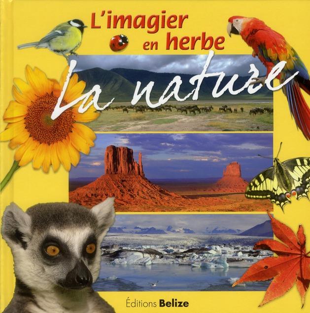 IMAGIER EN HERBE LA NATURE (L')