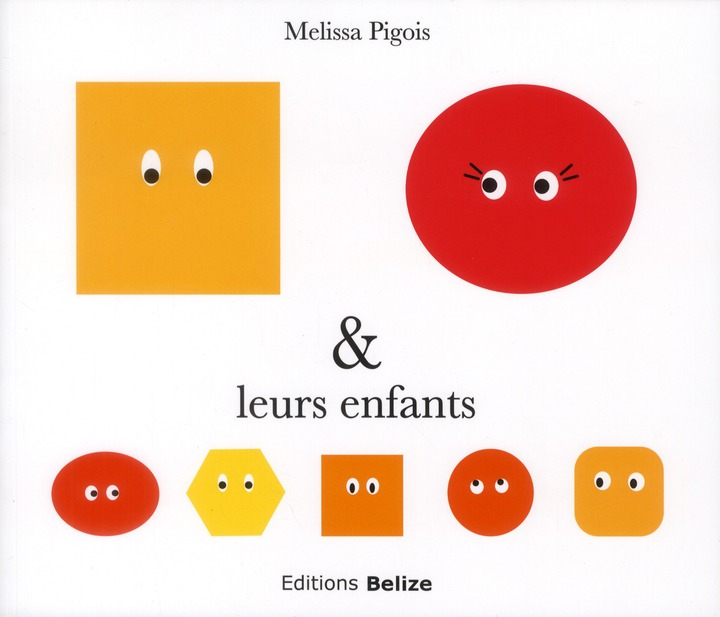 M MME & LEURS ENFANTS VERSION SOUPLE  CARRES RONDS SYMBOLISES