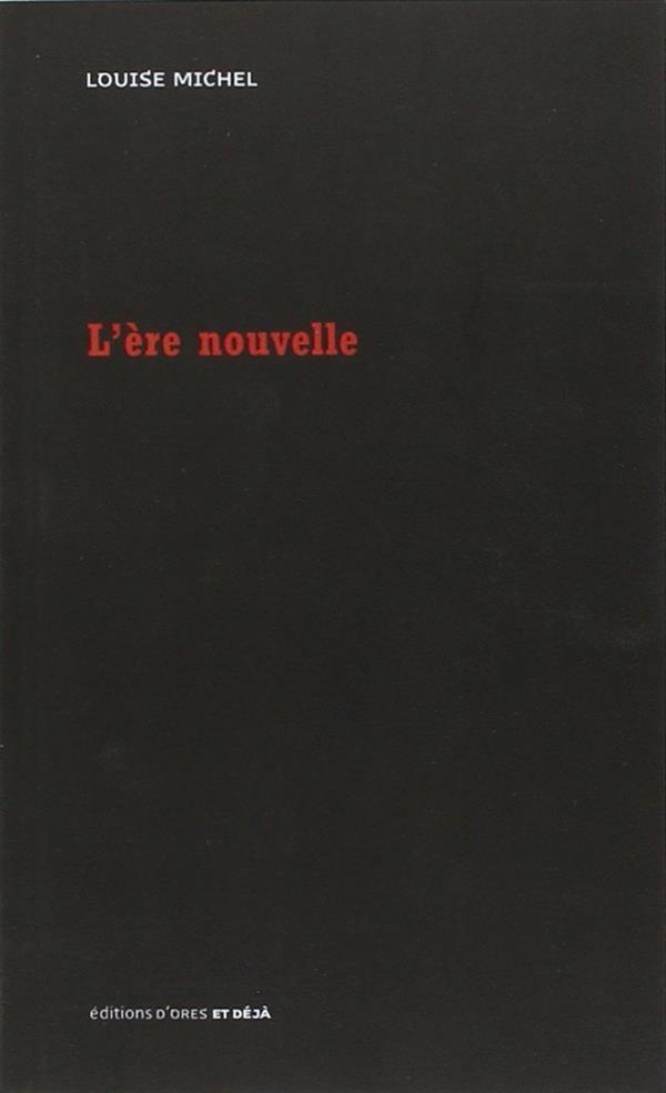 L ERE NOUVELLE