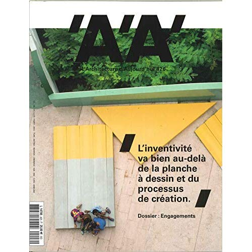 L'ARCHITECTURE D'AUJOURD'HUI N 426 ENGAGEMENTS - SEPTEMBRE 2018