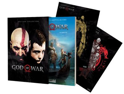 GOD OF WAR  EDITION LIMITEE  LE ROMAN OFFICIEL DU JEU VIDEO