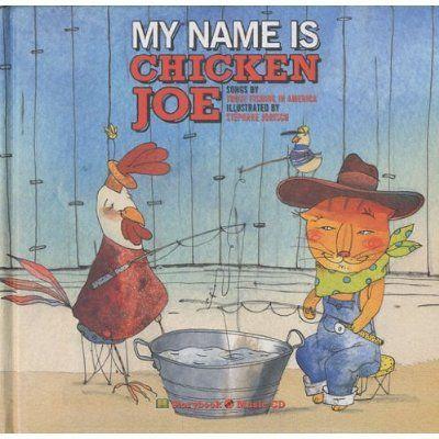 MY NAME IS CHICKEN JOE - LIVRE + CD