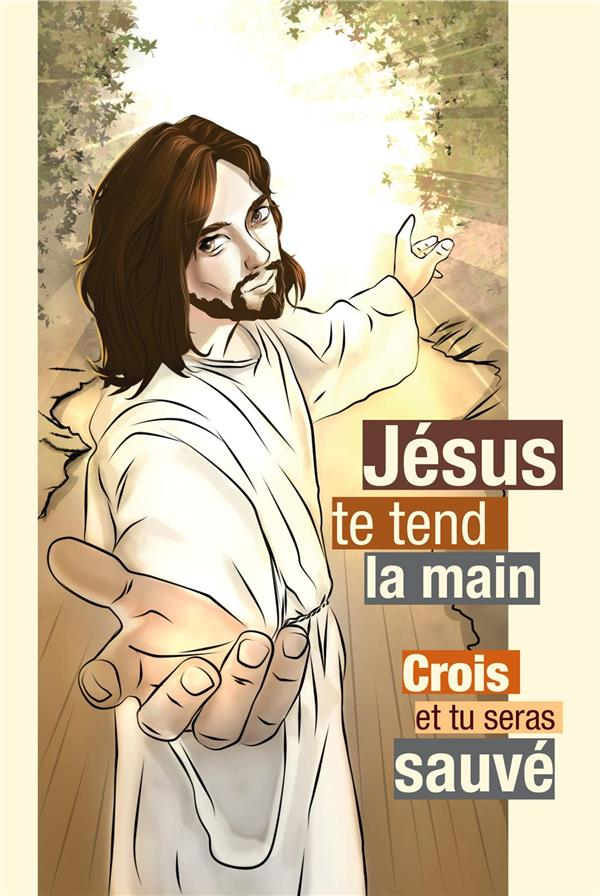 CARTE JESUS TE TEND LA MAIN