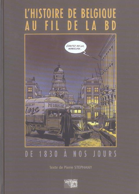 L'HISTOIRE DE BELGIQUE AU FIL DE LA BD