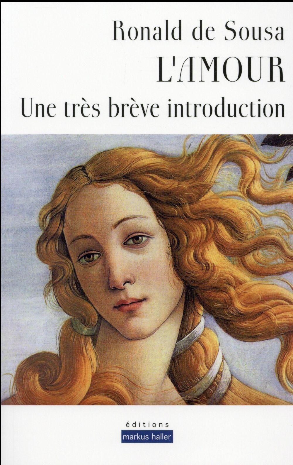 L AMOUR - UNE TRES BREVE INTRODUCTION