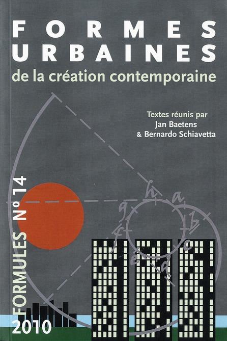 REVUE FORMULES N14 FORMES URBAINES DE LA CREATION CONTEMPORAINE