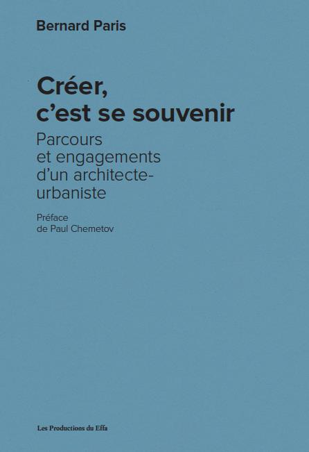 CREER, C EST SE SOUVENIR. PARC