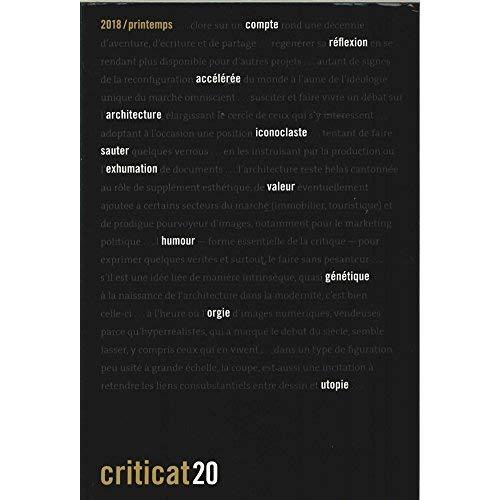 CRITICAT N 20 - PRINTEMPS 2018