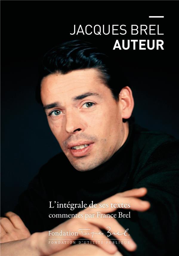 JACQUES BREL AUTEUR