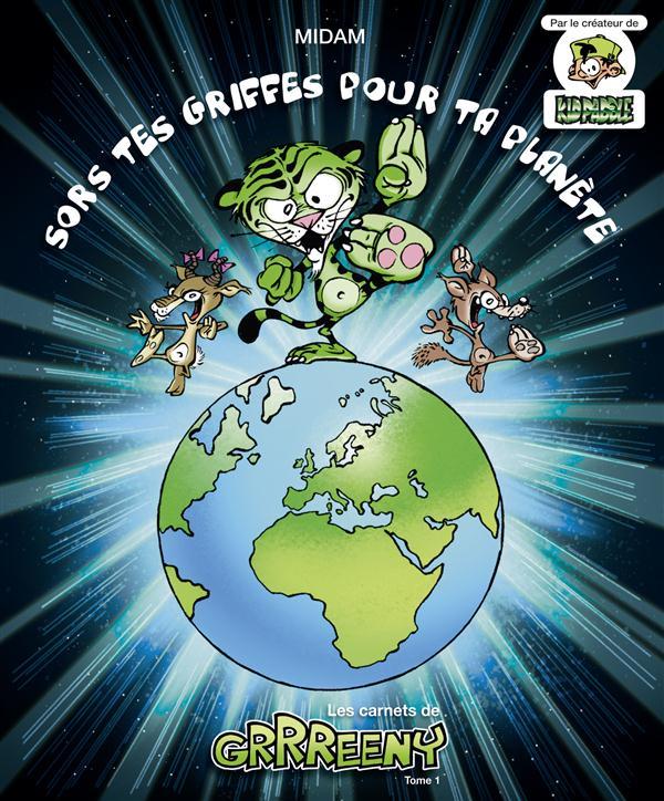 GRRREENY - LES CARNETS DE GRRREENY - TOME 01