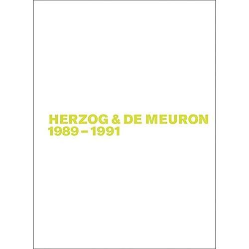 HERZOG & DE MEURON 1989-1991
