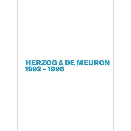 HERZOG & DE MEURON 1992-1996