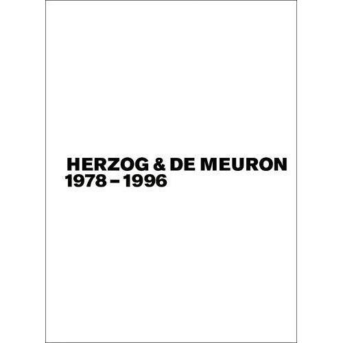 HERZOG & DE MEURON BD./VOL. 1-3