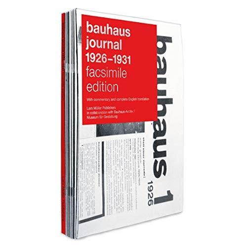 BAUHAUS JOURNAL 1926-1931 FACSIMILE EDITION /ANGLAIS