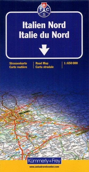 ITALIE DU NORD 1/650000