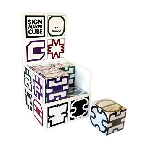 "PRESENTOIR ""SIGN MAKER CUBE"". COMPOSE DE 8 ""SIGN MAKER CUBE"" DE TOUTES LES COULE"