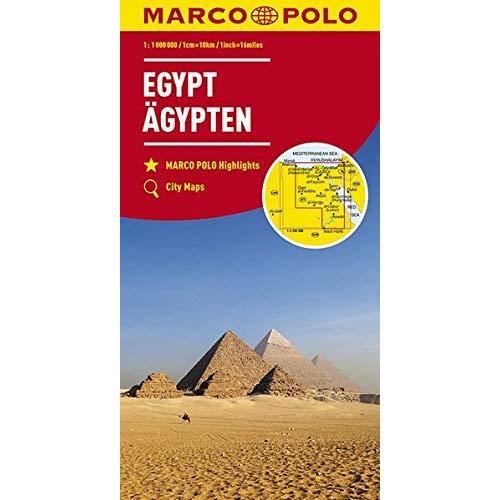 CARTE EGYPTE 1:1100000