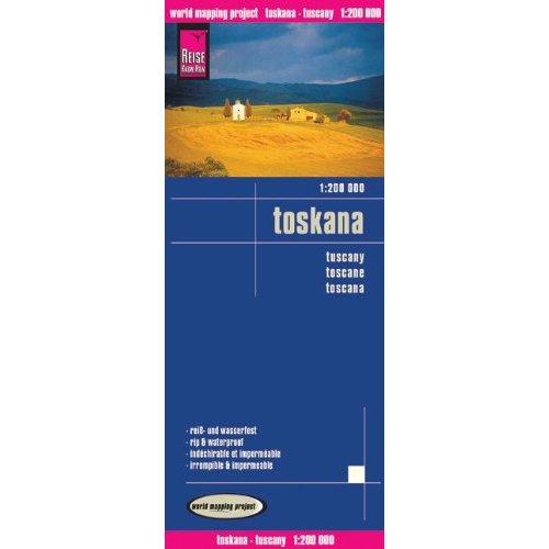 TOSCANE - 1/200.000