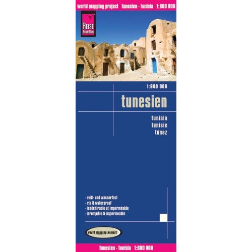 TUNISIE - 1/600.000