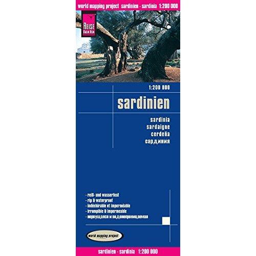 SARDAIGNE - 1/200.000