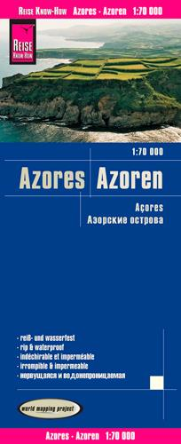 AZORES/ AZOREN/ACORES- 1/70.000