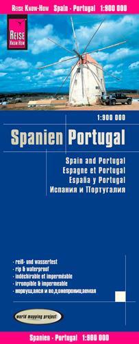 ESPAGNE & PORTUGAL - 1/900.000