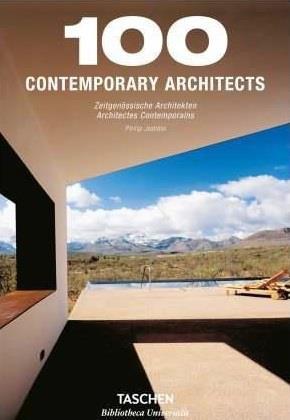 100 CONTEMPORARY ARCHITECTS-TRILINGUE