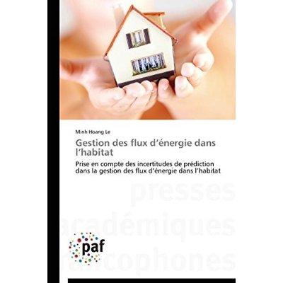 GESTION  DES FLUX D ENERGIE DANS L HABITAT